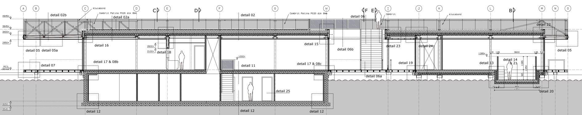 BezoekerscentrumKinderdijk tekening | Optimaliseren