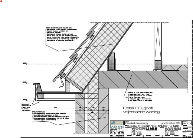Detailtekening | Technische uitwerking