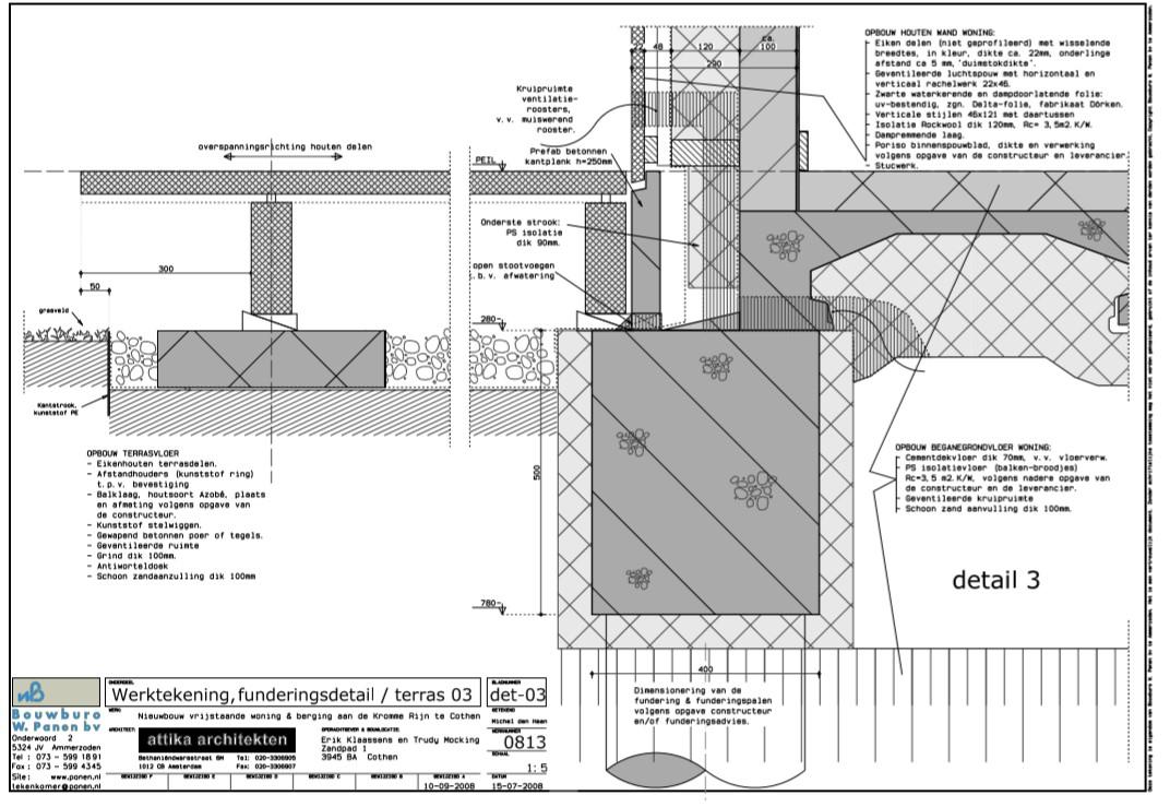 Detailtekening 2 | Technische uitwerking